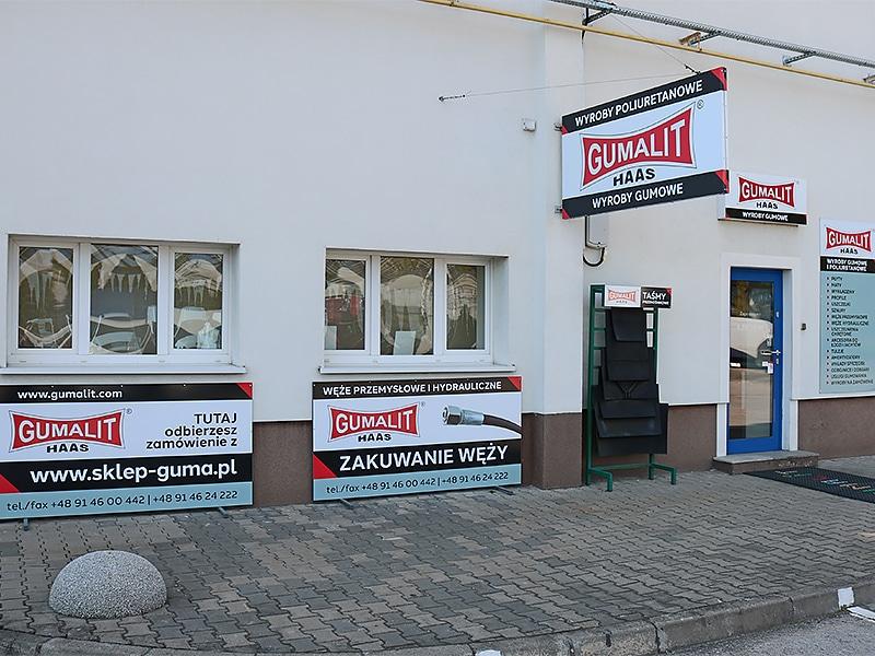 siedziba i biuro handlowe w Szczecinie